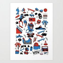 ROLLIN' Art Print