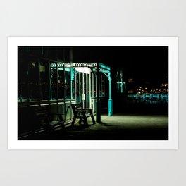 A Doorway in the Dark Art Print