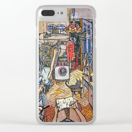 Evening in St. Petersburg Clear iPhone Case
