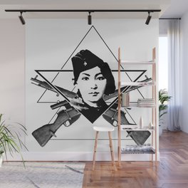 The Sniper (triangle) Wall Mural