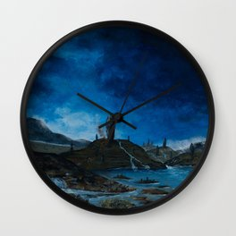 Land of the Old Gods Wall Clock