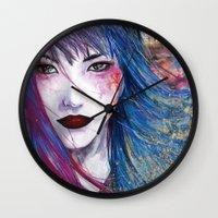 predator Wall Clocks featuring Predator by Regaux