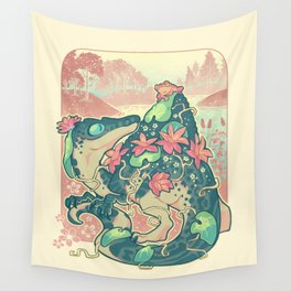 Aquatic buddies Wall Tapestry