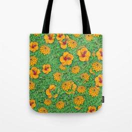 Yellow garden Tote Bag