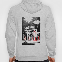 Searching for flowers Hoody