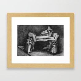 Party Skulls Framed Art Print