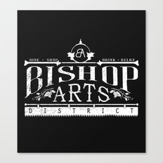Bishop Arts District Canvas Print