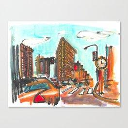 The Flatiron Canvas Print