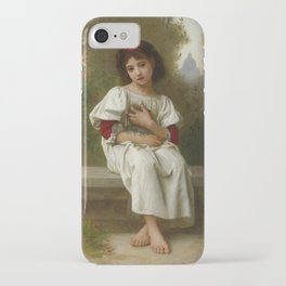 "Elizabeth Jane Gardner Bouguereau ""In the Garden"" iPhone Case"