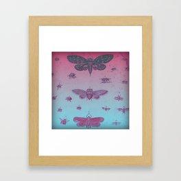 Cool Bugs Framed Art Print