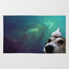 Dog, Garlic & Space Rug