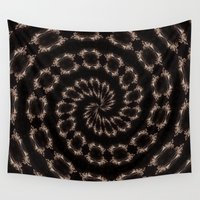sparkles Wall Tapestries featuring sparkles by Deborah Janke