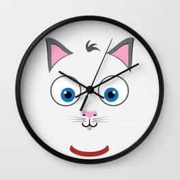 Cartoon Cat Wall Clock