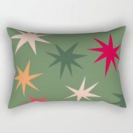 Keep Your Sparkle - Green Rectangular Pillow