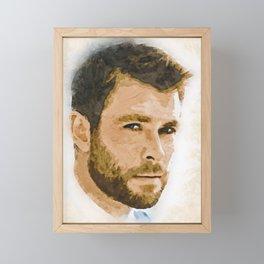A Tribute to CHRIS HEMSWORTH Framed Mini Art Print