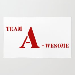 Team A awesome Rug