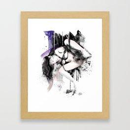 Shibari - Japanese BDSM Art Painting #11 Framed Art Print