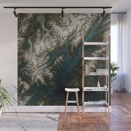 College Fjord, Prince William Sound, Alaska Wall Mural