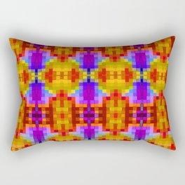 Etnic Humanoid Rectangular Pillow