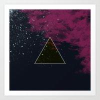 Wanderer Pyramid Art Print