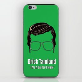 Brick Tamland: Weather iPhone Skin