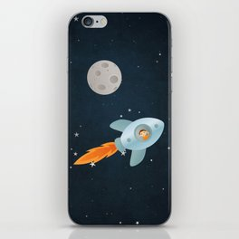 Kid Astronaut iPhone Skin
