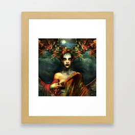 """Birds in my head"" Framed Art Print"