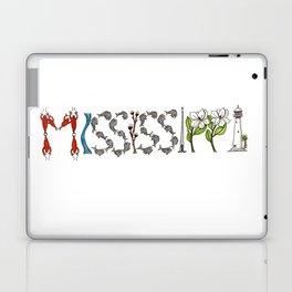 Mississippi Word Art Laptop & iPad Skin