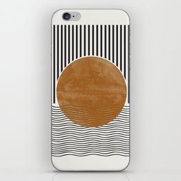 Abstract Modern Poster iPhone Skin