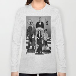 ADDAMS FAMILY c. 1964 Long Sleeve T-shirt