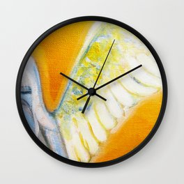 Angel on the Right Wall Clock
