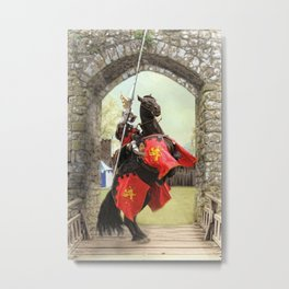 Knight Of The Round Table Metal Print