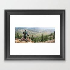 Ponderosa Loop Lookout Framed Art Print