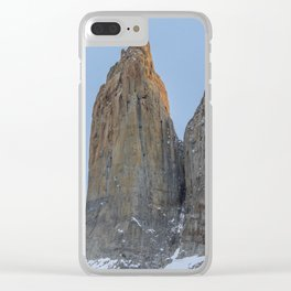 The Towers | Torres del Paine National Park, Patagonia Clear iPhone Case