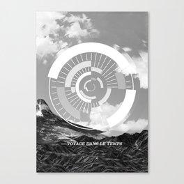 Voyage Dans Le Temps Canvas Print