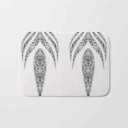 Jean flowers and arabesques Bath Mat