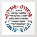 Right Wing Extremist by politics