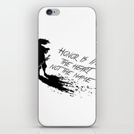 Yasuo best quote iPhone Skin