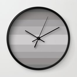 Cool Stone Gray - Color Therapy Wall Clock