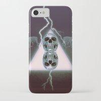 metallic iPhone & iPod Cases featuring Metallic by Elva Salinas