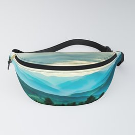 Clouded Beauty Fanny Pack