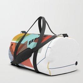 Bauhaus Kandinsky Modern Art Duffle Bag