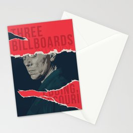 Three Billboards Outside Ebbing, Missouri Stationery Cards