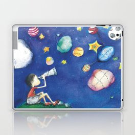 Stars and little planets Laptop & iPad Skin
