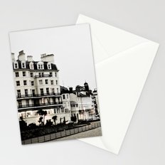 Old sea front Stationery Cards