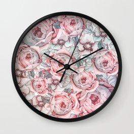 Flower Jungle VI Wall Clock