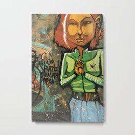 Grafitti Metal Print