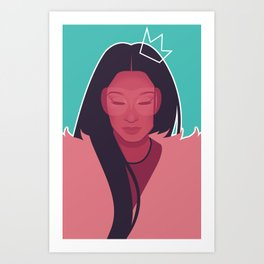 No Frauds Art Print
