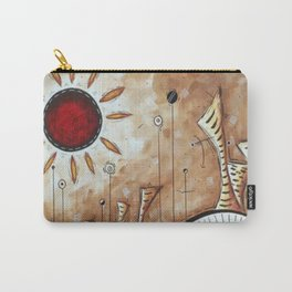 Sun in the desert Carry-All Pouch