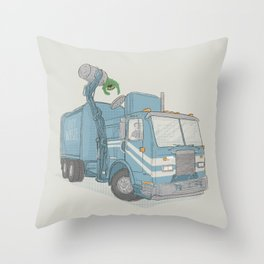 Curbside Pickup Throw Pillow